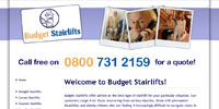 Budget Stairlifts Home Screenshot