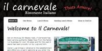 Il Carnevale Home Screenshot