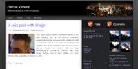 Modmat - a free WordPress theme
