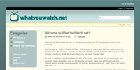 WhatYouWatch Project Details